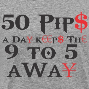 50 Pips A Day - Men's Premium T-Shirt