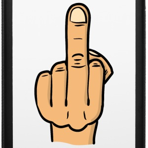 middle finger bitmap deluxe / fuck you / fock you Phone & Tablet Cases - iPhone 6/6s Rubber Case
