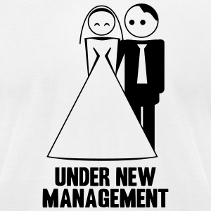 under new management 1c T-Shirts - Men's T-Shirt by American Apparel