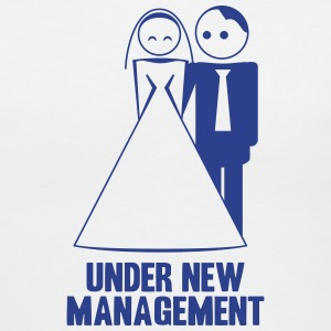 under new management 1c T-Shirts - Women's V-Neck T-Shirt