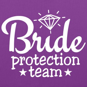 bride protection team 1c Bags & backpacks - Tote Bag