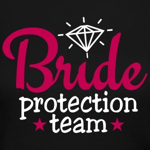 bride protection team 2c Long Sleeve Shirts - Women's Long Sleeve Jersey T-Shirt