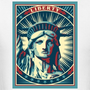 New York Statue Of Liberty USA T-Shirt - Men's T-Shirt