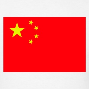 China Chinese Flag - Men's T-Shirt