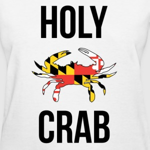 Holy Crab Men's White T-Shirt - Women's T-Shirt