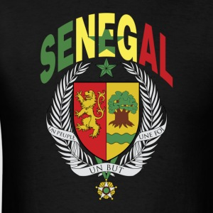 Senegal Coat Of Arms Flag T-Shirt - Men's T-Shirt