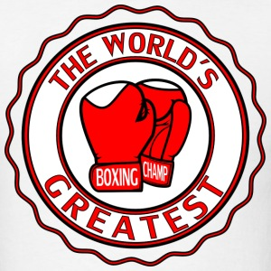 WORLDS GREATEST BOXING - Men's T-Shirt