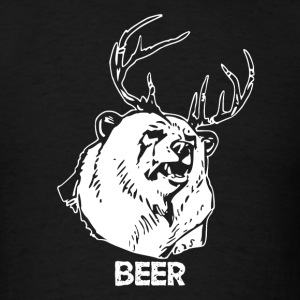 Bear Deer Beer - Men's T-Shirt