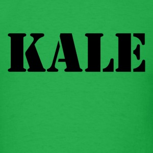 KALE vegan  vegetarian - Men's T-Shirt
