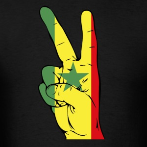 Senegal Flag Victory T-Shirt - Men's T-Shirt