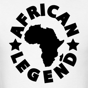 African Legend Africa Map T-Shirt - Men's T-Shirt