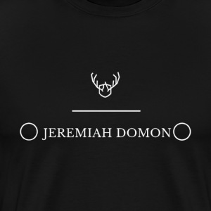 Mens Black Antler Tee - Men's Premium T-Shirt