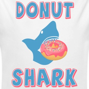 Donut shark Baby Bodysuits - Long Sleeve Baby Bodysuit