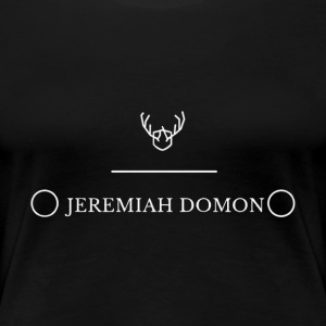 Womens Black Antler Tee - Women's Premium T-Shirt