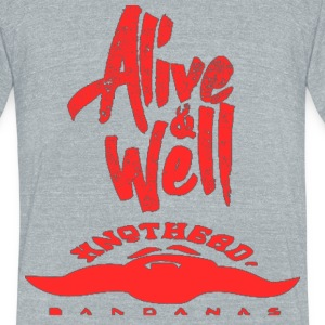 Alive Well  - Unisex Tri-Blend T-Shirt by American Apparel