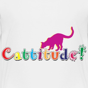 Cattitude Attitude Baby & Toddler Shirts - Toddler Premium T-Shirt