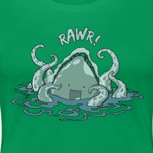Cute Kraken - Women's Premium T-Shirt