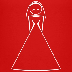 bride 1c clipart Baby & Toddler Shirts - Toddler Premium T-Shirt