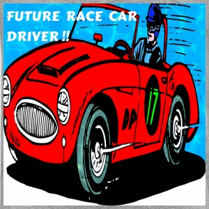 FUTURE RACE CAR DRIVER - Kids' Premium T-Shirt