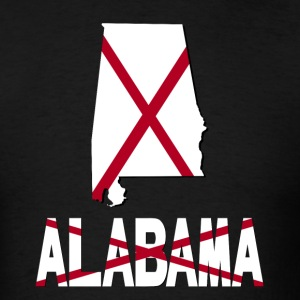 Alabama Flag USA T-Shirt - Men's T-Shirt