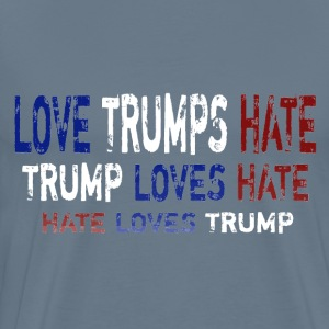 Love Trumps Hate - Men's Premium T-Shirt