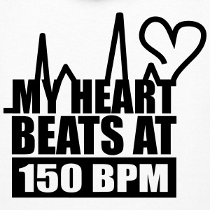 My Heart Beats At 150 BPM Hoodies - Women's Hoodie