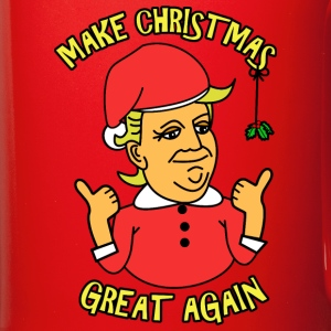 A Donald Trump Christmas Mugs & Drinkware - Full Color Mug