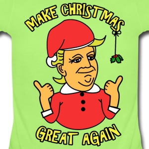 A Donald Trump Christmas Baby Bodysuits - Short Sleeve Baby Bodysuit