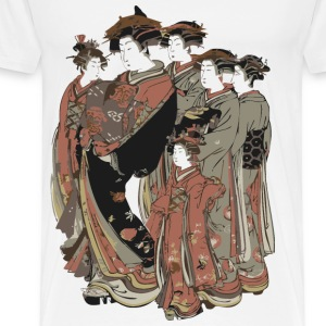 Japanese Kimono Group T-Shirts - Men's Premium T-Shirt
