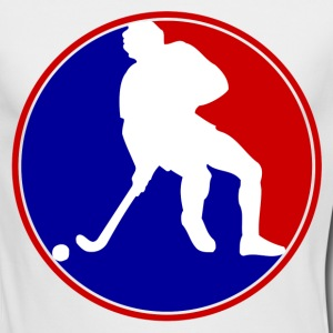 hockey man1.png Long Sleeve Shirts - Men's Long Sleeve T-Shirt by Next Level