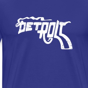 Detroit Smoking Gun - Men's Premium T-Shirt