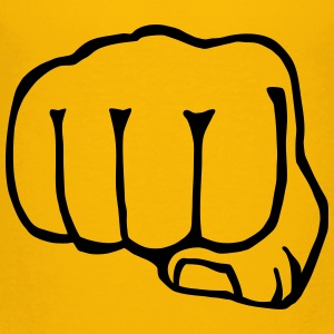 brofist / bro fist / fist bump 1c clipart Baby & Toddler Shirts - Toddler Premium T-Shirt