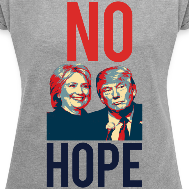 No Hope Women's Loose Boxy Tee - [America Is Fucked™]