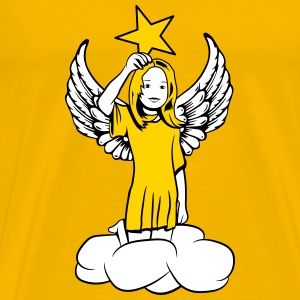 star angel wings sweet T-Shirts - Men's Premium T-Shirt