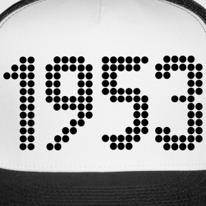 1953, Numbers, Year, Year Of Birth Sportswear - Trucker Cap