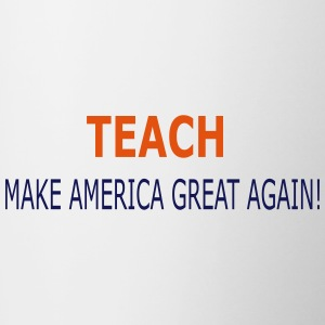 Teach America - Contrast Coffee Mug