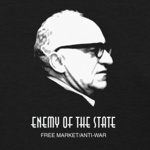 Murray Rothbard Enemy of the State Free Market Tee - Women's T-Shirt