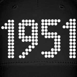 1951, Numbers, Year, Year Of Birth Sportswear - Baseball Cap