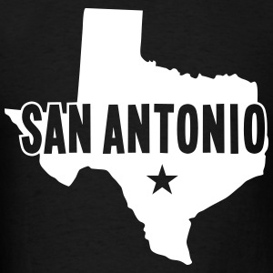 San Antonio, TX - Men's T-Shirt