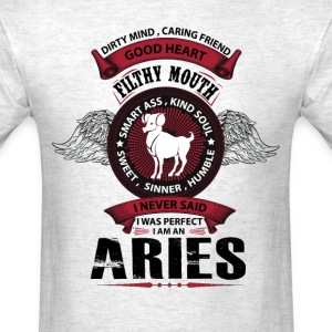 I Never Said I Was Perfect I Am An Aries T-Shirts - Men's T-Shirt