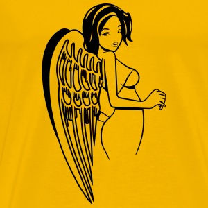 Angel wings sexy T-Shirts - Men's Premium T-Shirt