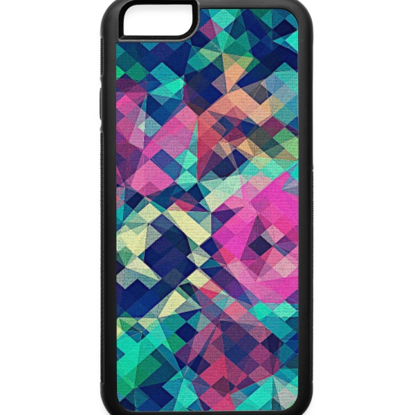 Abstract Rose (Colorful Pattern) Art - Phone Case Phone & Tablet Cases - iPhone 6/6s Rubber Case