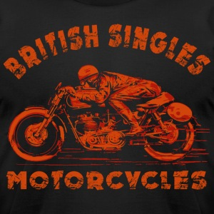 british motor T-Shirts - Men's T-Shirt by American Apparel