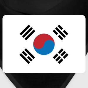 SOUTH KOREA FLAG Caps - Bandana