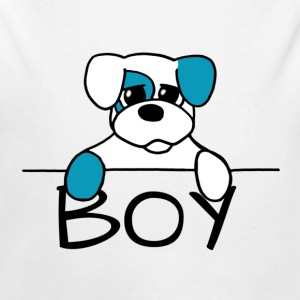 Doggy Boy - Baby Long Sleeve One Piece