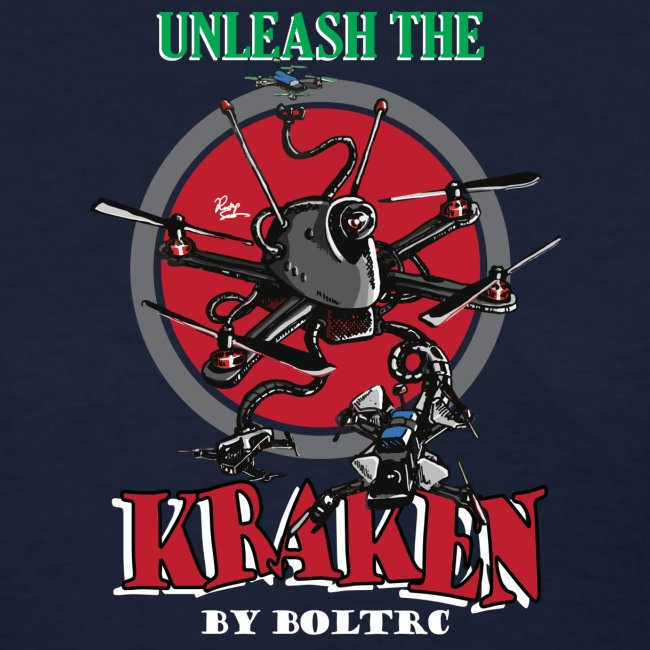 Unleash the Kraken v2 - BoltRC (womens)
