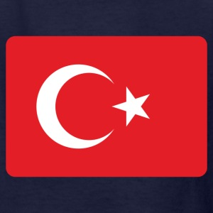 TURKEY FLAG Kids' Shirts - Kids' T-Shirt