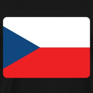 CZECH REPUBLIC FLAG T-Shirts - Men's Premium T-Shirt