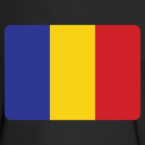ROMANIA IS THE NO 1 Long Sleeve Shirts - Men's Long Sleeve T-Shirt