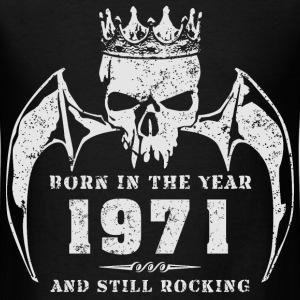 born_in_the_year_197116 T-Shirts - Men's T-Shirt
